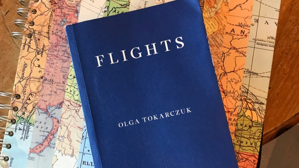 Flights Book Cover by Olga Tokarczuck