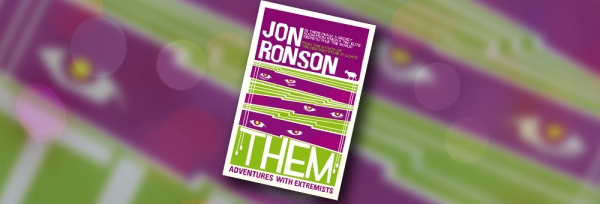 Them book cover by Jon Ronson