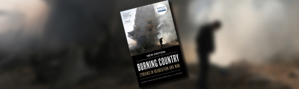 Book Cover of Burning Country by Robin Yassin Kassab