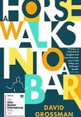 Cover of 'A horse walks into a bar' by David Grossman