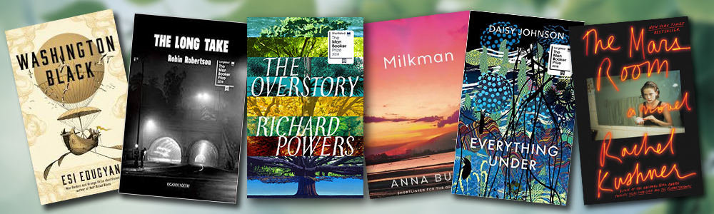 Image of Man Booker 2018 shortlist book covers