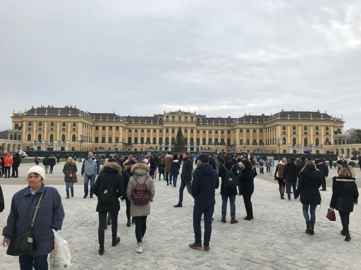 schonnebrunne palace vienna