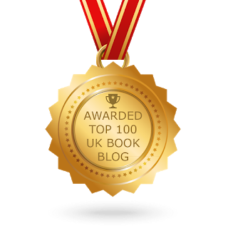 Feedspot Top 100 UK Book Bloggers Medal