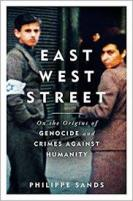 Cover of East West Street by Philippe Sands